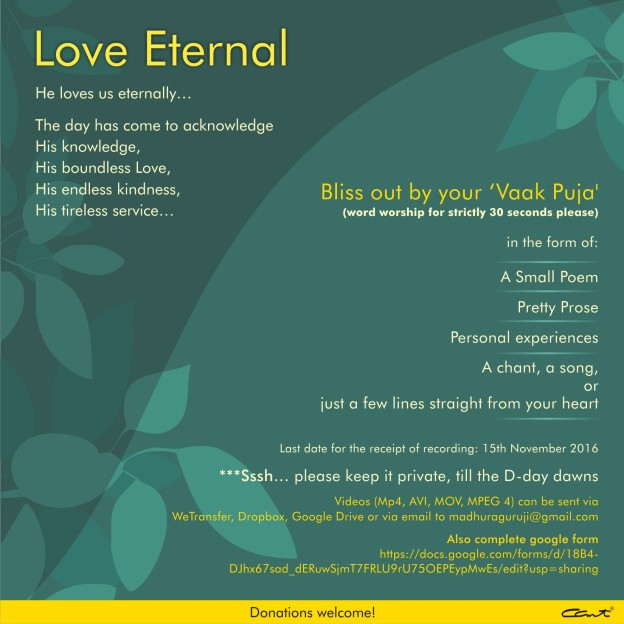 eternal-love_video-recording-flyer